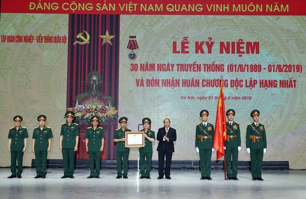 阮春福总理:到2025年Viettel要跻身世界十大电信企业行列 hinh anh 1