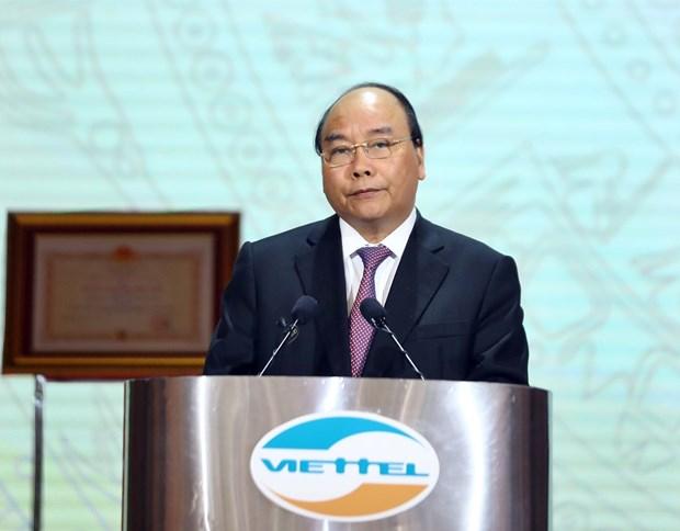 阮春福总理:到2025年Viettel要跻身世界十大电信企业行列 hinh anh 2