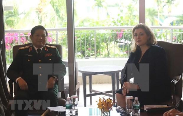 吴春历大将在第18届香格里拉对话会期间举行各场双边会晤 hinh anh 2