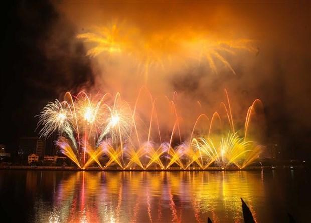 2019年岘港国际烟花节绚丽绽放 hinh anh 2