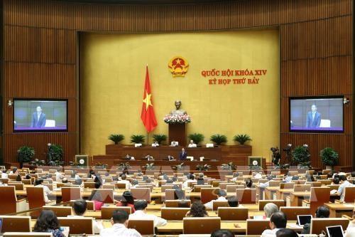 越南第十四届国会第七次会议:讨论2020年国会监督计划 hinh anh 1