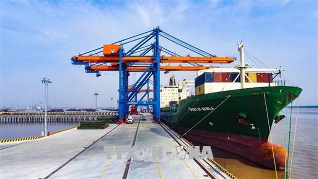越南制定生态港口标准 hinh anh 1