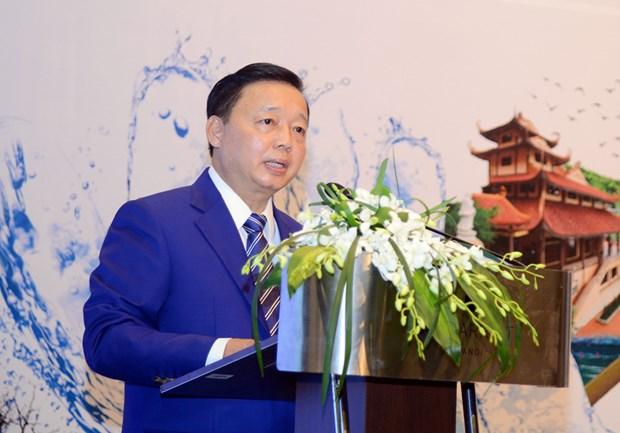 越南努力走向拥有适应性、清洁和安全的水系统 hinh anh 2