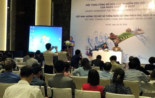 越南努力走向拥有适应性、清洁和安全的水系统 hinh anh 1