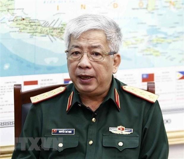 越南副防长阮志咏:无论如何都要维护好和平稳定 hinh anh 1