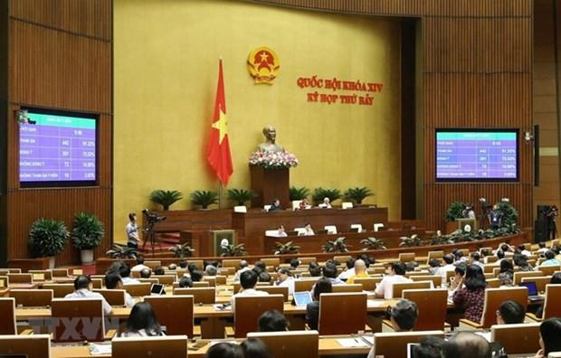 越南第十四届国会第七次会议公报(第11号) hinh anh 1