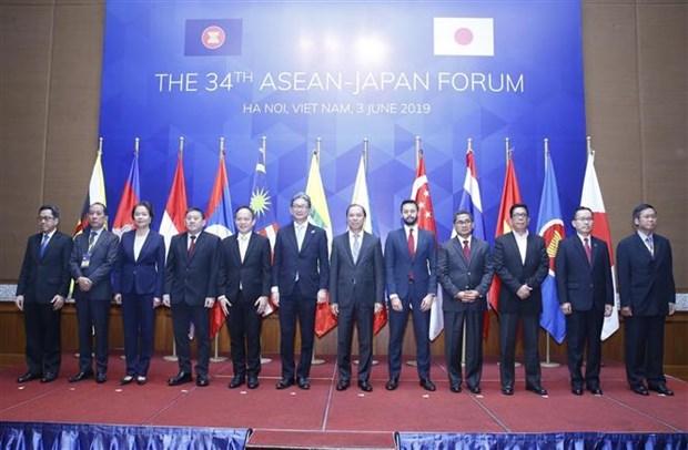 第34次东盟日本论坛在河内举行 hinh anh 1