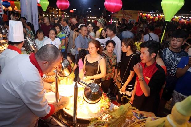 世界各国美食亮相2019年岘港市国际饮食节 hinh anh 1