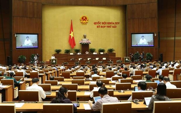越南第十四届国会第七次会议:就备受关注的四大问题进行质询活动 hinh anh 1