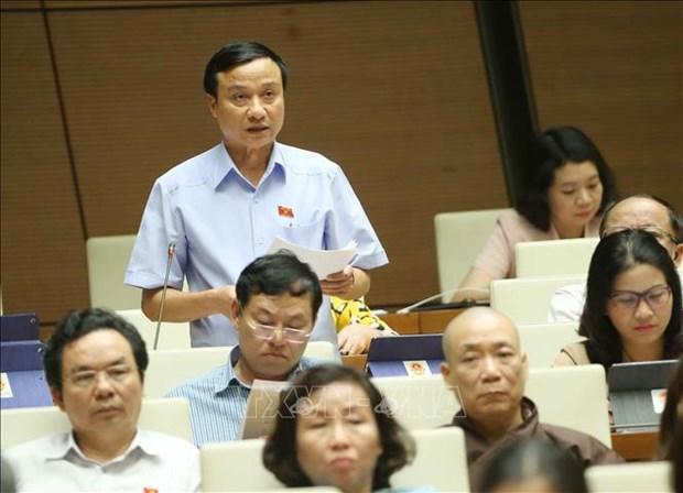 越南第十四届国会第七次会议对《公共投资法(修正案)》草案展开讨论 hinh anh 2