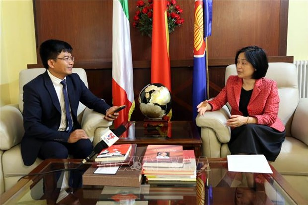 越南与意大利关系呈现积极的发展态势 hinh anh 1