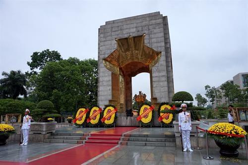 胡志明主席陵6月14日起暂停对公众开放 hinh anh 2
