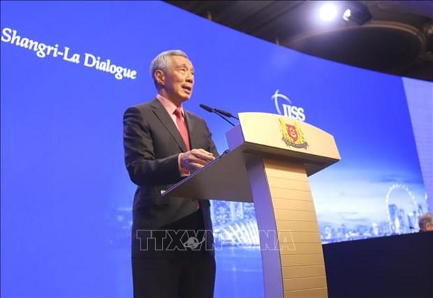 越南对新加坡总理李显龙在香格里拉对话上的讲话作出表态 hinh anh 1