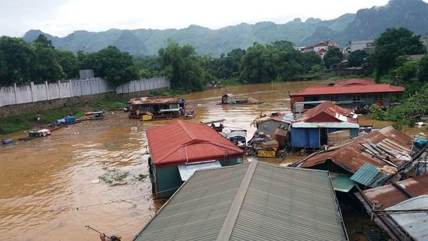 2019年前5月越南北部山区各种自然灾害共造成18人死亡 hinh anh 1