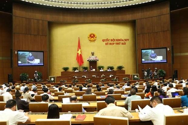 越南第十四届国会第七次会议:质询和答复质询活动今天开始 hinh anh 1