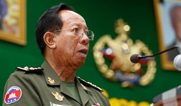 柬埔寨官员谴责新加坡总理李显龙在香格里拉对话上的讲话 hinh anh 1