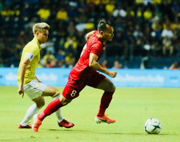 2019年泰国国王杯:越南队1-0取胜泰国队 hinh anh 1