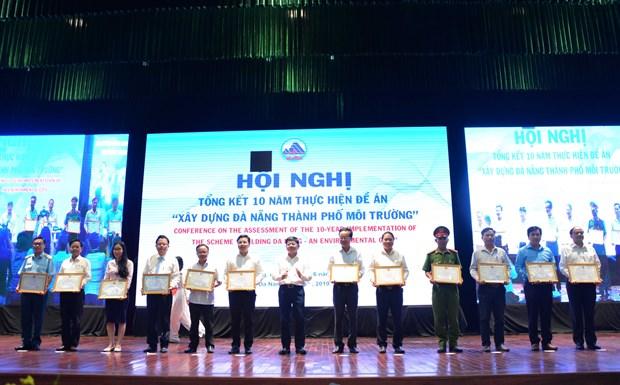 越南岘港市致力建设环保型城市 hinh anh 1