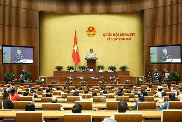 越南第十四届国会第七次会议:专题询问活动落下帷幕 hinh anh 2