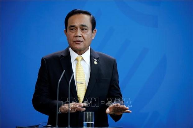 越南总理向泰国总理致贺电 hinh anh 1