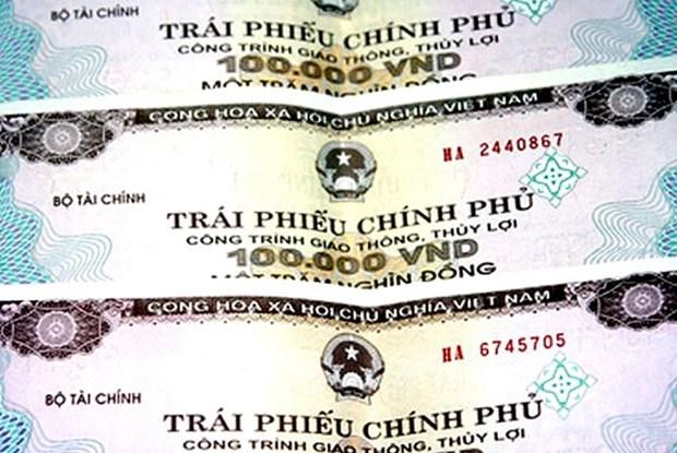 2019年5月越南成功发行政府债券11.9万亿越盾 hinh anh 1
