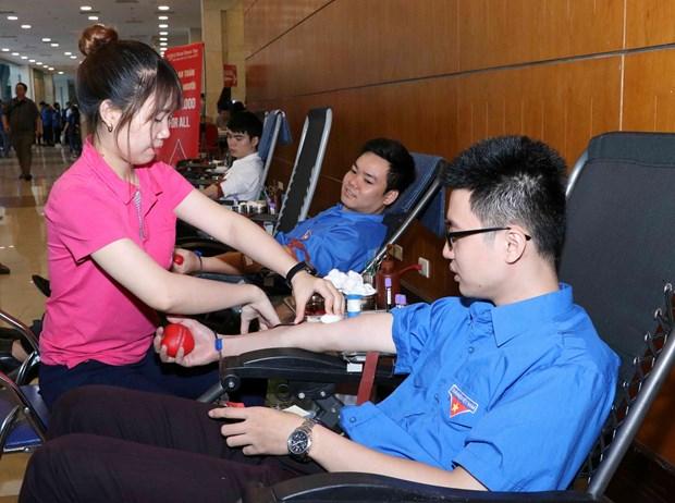 通过献血活动传播美好价值 hinh anh 1