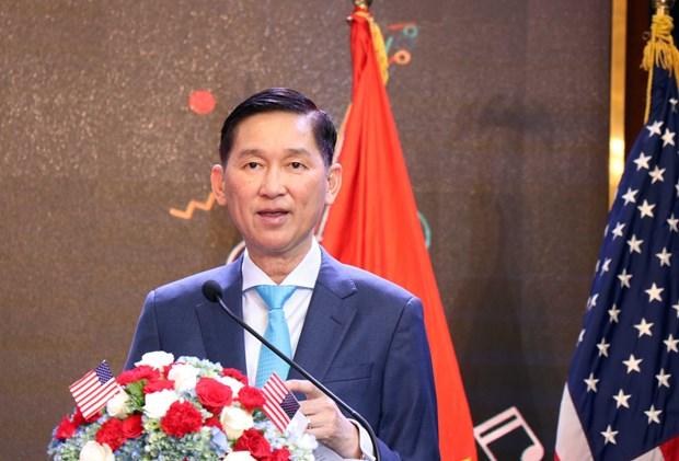 美国国庆243年庆典在胡志明市举行 hinh anh 1