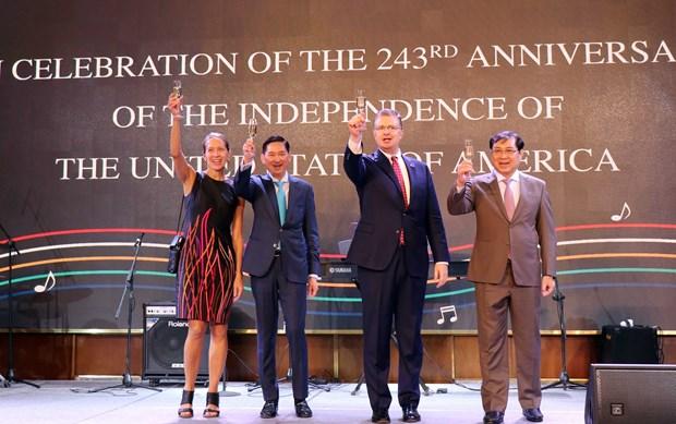 美国国庆243年庆典在胡志明市举行 hinh anh 2
