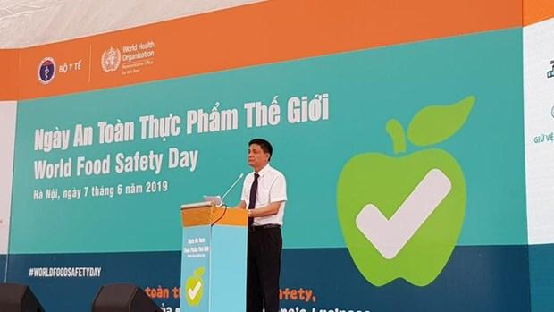 越南响应首个世界食品安全日 hinh anh 1