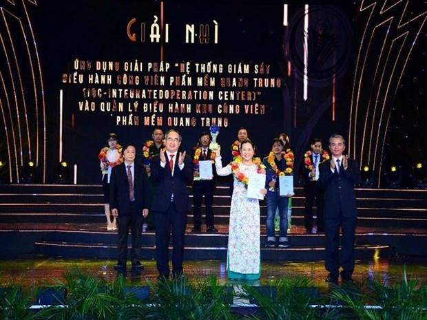 44个工程和项目荣获2019年胡志明市创新奖 hinh anh 2