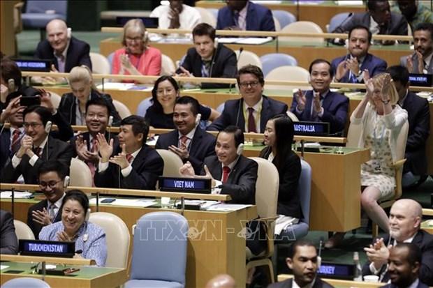 越南以高票当选联合国安理会非常任理事国 hinh anh 2