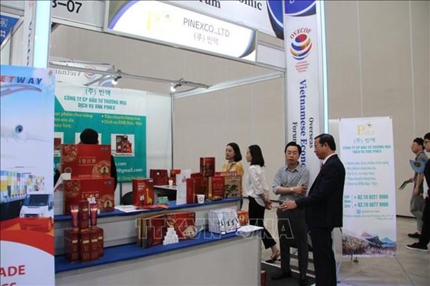 第一届全球侨务经济论坛在韩国举行 hinh anh 2