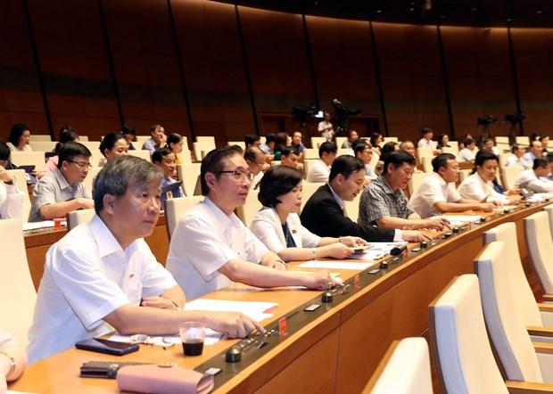 第十四届国会第七次会议:加入国际劳工组织第98号公约为劳务市场沿着正确方向发展提供基础 hinh anh 1