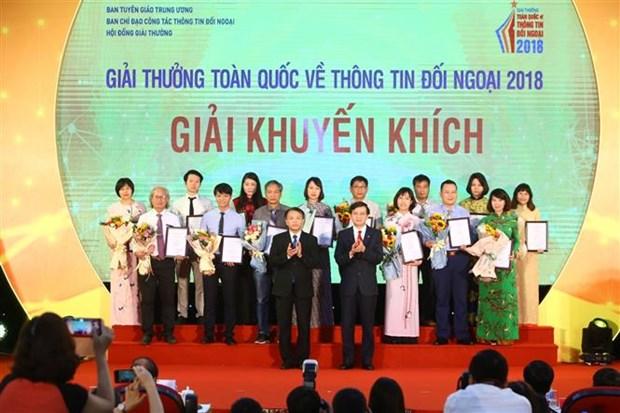 2018年全国对外新闻奖:90件最优秀作品获奖 hinh anh 2