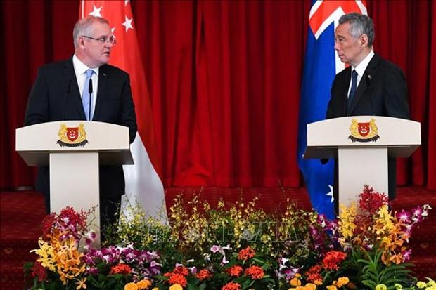 新加坡与澳大利亚促进数字经济合作 hinh anh 1
