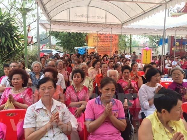 胡志明市加强与旅居泰国越南人的合作与交流 hinh anh 1