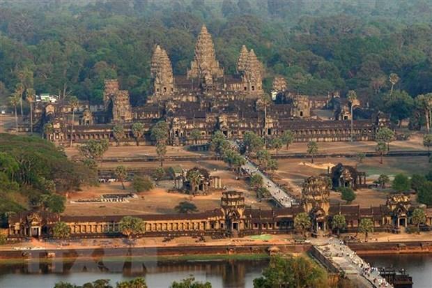 2019年前4月柬埔寨接待中国游客人数增长37% hinh anh 1