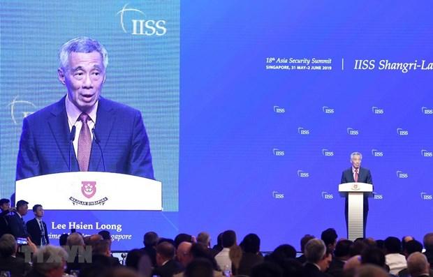 新加坡强调与柬埔寨和越南建立友好关系的决心 hinh anh 1