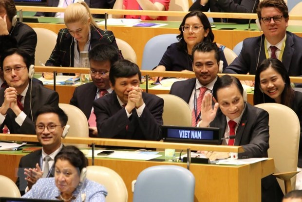 越南与联合国安理会:世界各国祝贺越南当选联合国安理会非常任理事国 hinh anh 2