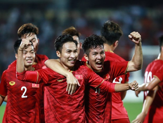 越南U23球队与缅甸U23球队国际足球友谊赛:越南2:0取胜缅甸 hinh anh 1