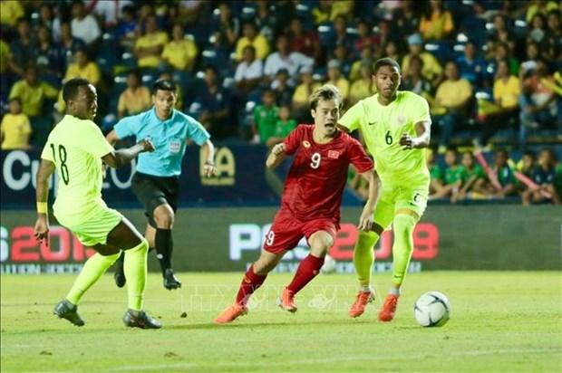 2019年泰国王杯友谊赛:在点球大战输给库拉索 越南获得第二名 hinh anh 1