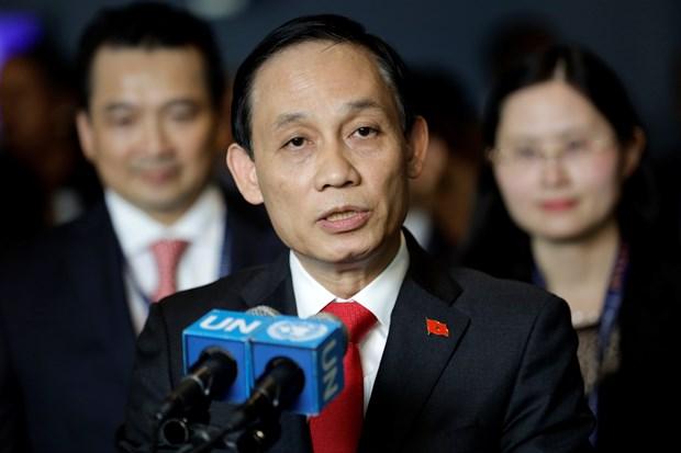 越南外交部副部长黎淮忠:越南革新成就已得到认可 hinh anh 1