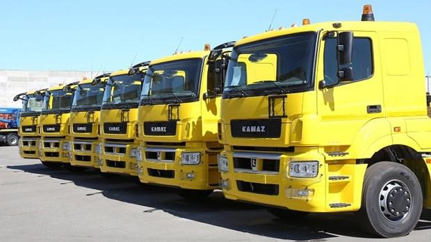 俄罗斯卡马斯:力争2020年越南工厂产量达到1000至1200辆车 hinh anh 1