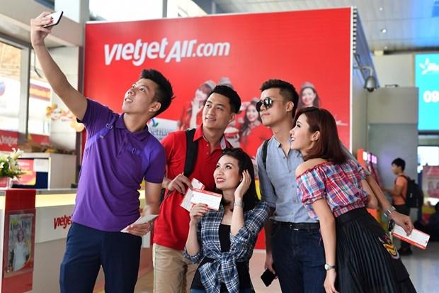 越捷航空推出以分期付款的形式购买机票的新服务计划 hinh anh 1
