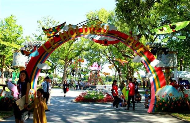 2019年顺化风筝节有助于保护和弘扬顺化传统风筝艺术 hinh anh 3