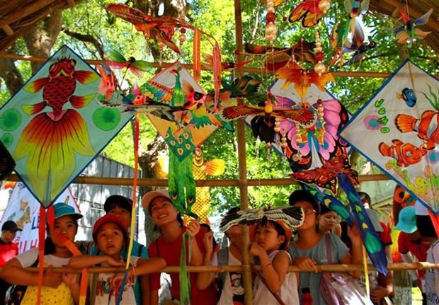 2019年顺化风筝节有助于保护和弘扬顺化传统风筝艺术 hinh anh 1