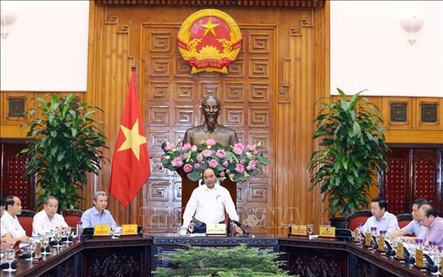 政府总理与承天顺化省领导举行工作座谈会 hinh anh 1