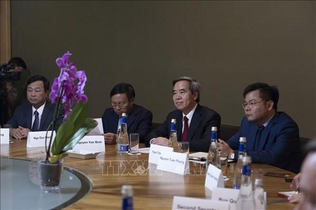 越南与俄罗斯共产党加强合作关系 hinh anh 4