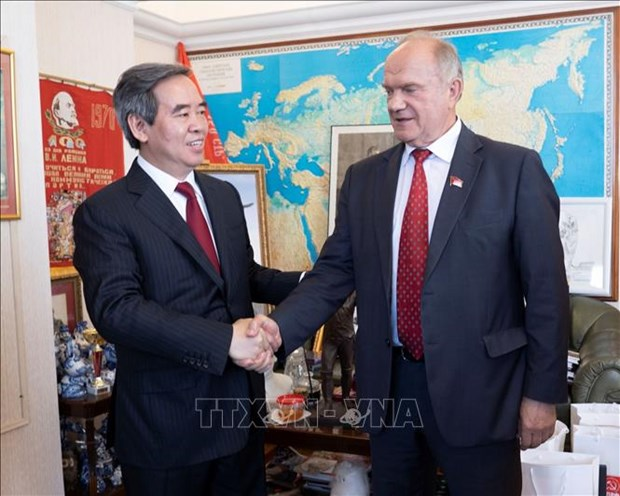 越南与俄罗斯共产党加强合作关系 hinh anh 1