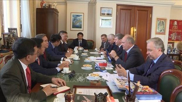 越南与俄罗斯共产党加强合作关系 hinh anh 2